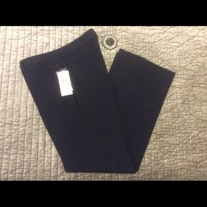 Navy blue spring pants